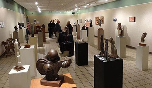 sculpture exhibition